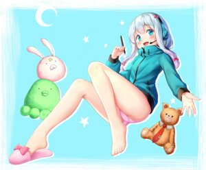 Rating: Questionable Score: 47 Tags: drogoth eromanga-sensei feet headphones izumi_sagiri pantsu User: Mr_GT
