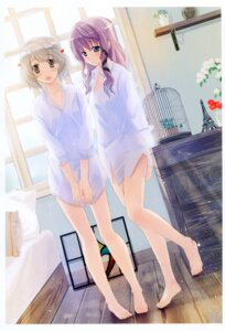 Rating: Safe Score: 29 Tags: dress_shirt naruse_chisato User: fireattack