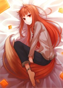 Rating: Safe Score: 35 Tags: animal_ears ayakura_juu holo spice_and_wolf tail User: Radioactive