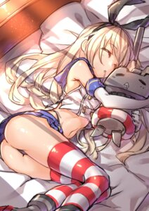 Rating: Questionable Score: 74 Tags: ass kantai_collection pantsu rensouhou-chan shennai_misha shimakaze_(kancolle) thighhighs thong User: Mr_GT