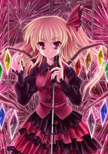 Rating: Safe Score: 19 Tags: dress flandre_scarlet kirihara_natsuki touhou wings User: blooregardo