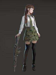 Rating: Safe Score: 19 Tags: furukawa_hetzer gun thighhighs User: saemonnokami