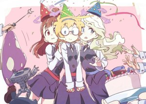 Rating: Safe Score: 29 Tags: atsuko_kagari diana_cavendish little_witch_academia lotte_yanson megane seifuku tama_(sin05g) User: nphuongsun93