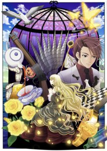 Rating: Safe Score: 4 Tags: beatrice umineko_no_naku_koro_ni ushiromiya_battler youshuu User: charunetra