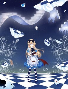 Rating: Safe Score: 16 Tags: alice alice_in_wonderland crowe dress neko pantyhose User: Radioactive