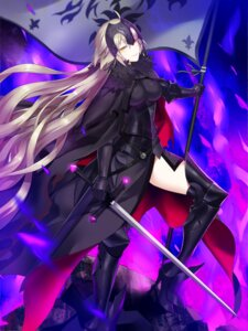 Rating: Safe Score: 46 Tags: armor fate/apocrypha fate/grand_order fate/stay_night heels popompon ruler_(fate/apocrypha) sword thighhighs User: Mr_GT