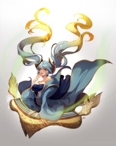 Rating: Safe Score: 39 Tags: asian_clothes league_of_legends nawol sona_buvelle User: Anemone