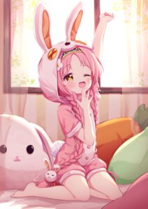 Rating: Safe Score: 32 Tags: akane_mimi animal_ears bunny_ears pajama princess_connect princess_connect!_re:dive tokenbox User: Mr_GT