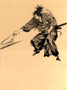 Rating: Safe Score: 2 Tags: inoue_takehiko male monochrome sword vagabond User: Umbigo