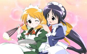 Rating: Safe Score: 9 Tags: andou_mahoro andou_minawa kubota_chikashi mahoromatic maid User: Radioactive
