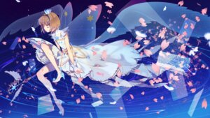 Rating: Safe Score: 33 Tags: card_captor_sakura dress heels kieteulb kinomoto_sakura wallpaper weapon wings User: charunetra