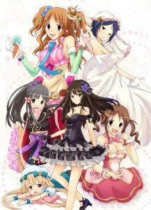 Rating: Safe Score: 19 Tags: cleavage dress futaba_anzu gothic_lolita kimono kobayakawa_sae lolita_fashion moroboshi_kirari rikudou_inuhiko shibuya_rin the_idolm@ster the_idolm@ster_cinderella_girls totoki_airi wakui_rumi wedding_dress User: fairyren