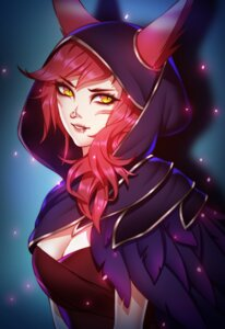 Rating: Safe Score: 14 Tags: animal_ears cleavage league_of_legends pinkladymage xayah User: NotRadioactiveHonest