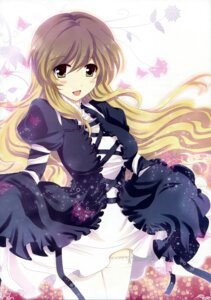 Rating: Safe Score: 27 Tags: dress hijiri_byakuren nakayama_miyuki stockings thighhighs touhou User: blooregardo