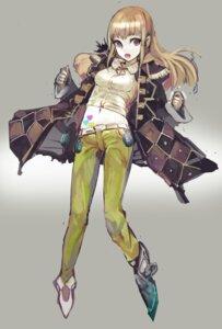Rating: Safe Score: 26 Tags: armor open_shirt uturo weapon User: blooregardo