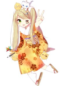 Rating: Safe Score: 46 Tags: kimono mafuyu_(chibi21) neko User: Ricetaffy
