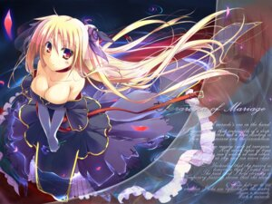 Rating: Safe Score: 36 Tags: cleavage dress fate_testarossa mahou_shoujo_lyrical_nanoha t-ray wallpaper User: fairyren