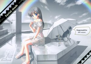 Rating: Safe Score: 41 Tags: kogemashita neko see_through takoyaki wet_clothes User: midzki