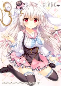Rating: Safe Score: 65 Tags: ame_to_yuki animal_ears bunny_ears heels tail thighhighs User: kiyoe