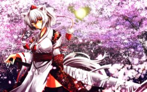 Rating: Safe Score: 13 Tags: inubashiri_momiji nekominase touhou wallpaper User: Konngara
