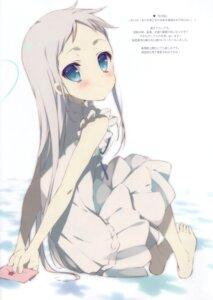 Rating: Questionable Score: 12 Tags: ano_hi_mita_hana_no_namae_wo_bokutachi_wa_mada_shiranai dress honma_meiko shiratama summer_dress User: Radioactive