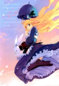 Rating: Safe Score: 22 Tags: alice alice_in_wonderland fancy_fantasia lolita_fashion ueda_ryou User: Mirukudesu