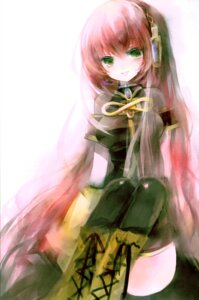 Rating: Safe Score: 21 Tags: megurine_luka shimeko thighhighs vocaloid User: Radioactive