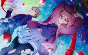 Rating: Safe Score: 45 Tags: blood kadowaki_miku kanbara_akihito kuriyama_mirai kyoukai_no_kanata megane overfiltered pantyhose seifuku sweater sword torn_clothes User: shizuku96