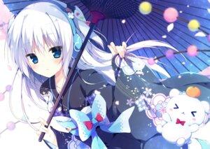 Rating: Safe Score: 80 Tags: headphones kimono muku_(apupop) umbrella User: Mr_GT