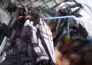 Rating: Safe Score: 26 Tags: armor mecha mecha_musume shou_mai sword User: Radioactive
