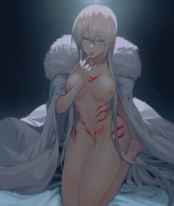 Rating: Questionable Score: 48 Tags: breast_hold fate/apocrypha fate/stay_night morgan_le_fay_(fate) naked_cape nipples tattoo yorukun User: Genex