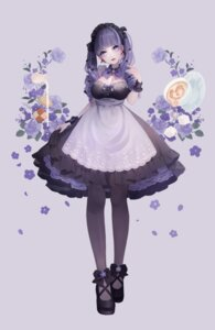 Rating: Safe Score: 29 Tags: cleavage magako maid pantyhose User: Mr_GT