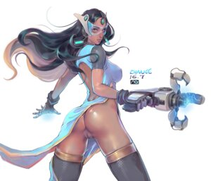 Rating: Explicit Score: 71 Tags: ass change_(437483723) dress erect_nipples gun headphones megane no_bra nopan overwatch pussy signed symmetra_(overwatch) thighhighs uncensored User: Mr_GT