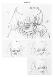 Rating: Safe Score: 2 Tags: kushieda_minori monochrome sketch toradora! User: superogira