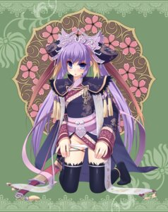 Rating: Questionable Score: 20 Tags: amasa_mitsunaru pantsu sangokushi_taisen thighhighs touhaku User: Radioactive