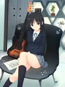 Rating: Safe Score: 183 Tags: akiyama_mio coffee-kizoku guitar k-on! seifuku User: blooregardo