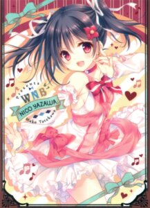 Rating: Safe Score: 45 Tags: card dress love_live! no_bra tatekawa_mako wnb yazawa_nico User: Twinsenzw