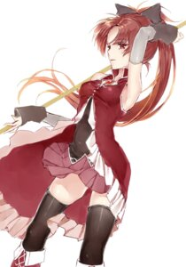 Rating: Safe Score: 20 Tags: puella_magi_madoka_magica sakura_kyouko tagme thighhighs weapon User: Spidey