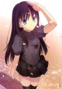 Rating: Safe Score: 75 Tags: kara_no_kyoukai ryougi_mana takeuchi_takashi thighhighs User: drop