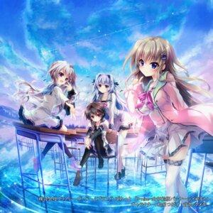 Rating: Safe Score: 25 Tags: 9_-nine- 9_-nine-_haruiro_harukoi_harunokaze 9_-nine-_kokonotsu_kokonoka_kokonoiro 9_-nine-_sorairo_sorauta_soranooto 9_-nine-_yukiiro_yukihana_yukinoato izumi_tsubasu kousaka_haruka kujou_miyako niimi_sora palette pantyhose seifuku skirt_lift stockings sweater thighhighs yuuki_noa User: Arsy