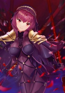 Rating: Safe Score: 31 Tags: bodysuit fate/grand_order ranyu scathach_(fate/grand_order) weapon User: Mr_GT