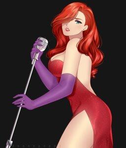 Rating: Safe Score: 15 Tags: cleavage dress jessica_rabbit sunnypoppy who_framed_roger_rabbit? User: charunetra