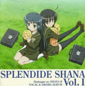 Rating: Safe Score: 3 Tags: disc_cover konoe_fumina seifuku shakugan_no_shana shana thighhighs User: Sangwoo