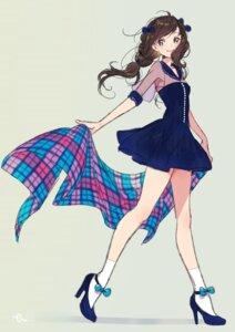 Rating: Safe Score: 64 Tags: dress heels morikura_en see_through User: KazukiNanako