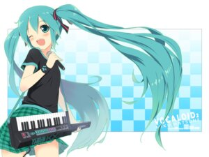 Rating: Safe Score: 17 Tags: hatsune_miku tukinan vocaloid wallpaper User: yumichi-sama