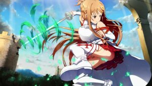 Rating: Explicit Score: 21 Tags: armor asuna_(sword_art_online) heels pantsu sword sword_art_online tagme thighhighs User: zeus_action