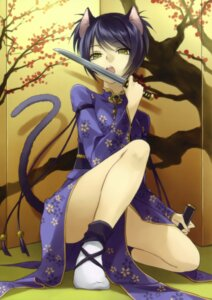 Rating: Safe Score: 43 Tags: animal_ears nekomimi ryou_(kimagure) tail User: midzki