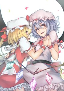Rating: Safe Score: 20 Tags: azuhira flandre_scarlet remilia_scarlet touhou wings User: Nepcoheart