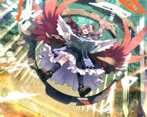 Rating: Safe Score: 20 Tags: eho_(icbm) tokiko touhou wings User: fairyren