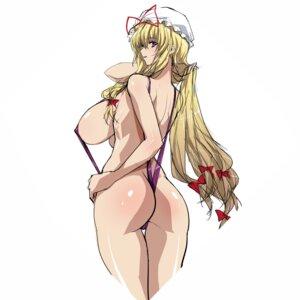 Rating: Questionable Score: 20 Tags: ass breasts cameltoe erect_nipples qazieru sling_bikini swimsuits User: Boi784